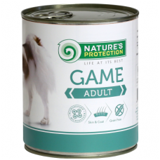 Nature's Protection Dog Adult Game, 800 g,