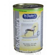 Dr. Clauder's Sensible alergiškiems šunims su vištiena, 400 g