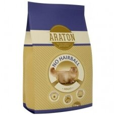 Araton Adult No Hairball Chicken & Beef, 15 kg