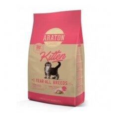 Araton Kitten sausas pašaras visų veislių kačiukams iki 1 m., 1,5 kg