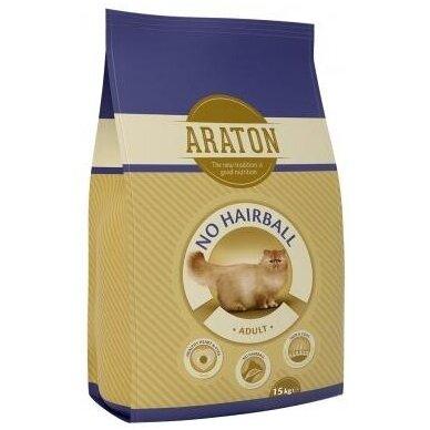 Araton Adult No Hairball Chicken & Beef, 15 kg