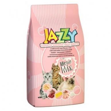 Jazzy Menu Mix kačių pašaras, 15 kg