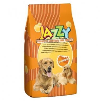 JAZZY suaugusių šunų pašaras su vištiena 15 kg