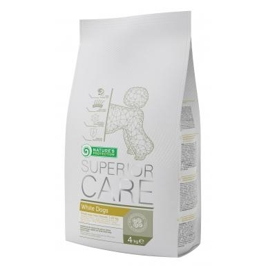 Nature's Potection Superior Care White Dog small breed, 4 kg
