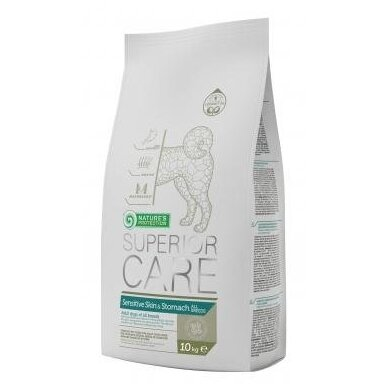 Nature's Protection Superior Care Sensitive Skin & Stomach Dog All Breed, 10 kg