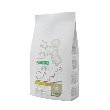 Nature's Protection Superior Care White Dog Small Breed, 10 kg