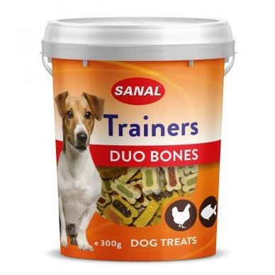 Sanal Dog Trainers Duo Bones, 300 g