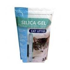 Silica Gel silikagelinis kraikas katėms 3,8 l